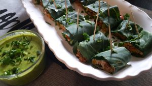Collard Green Taco Rolls