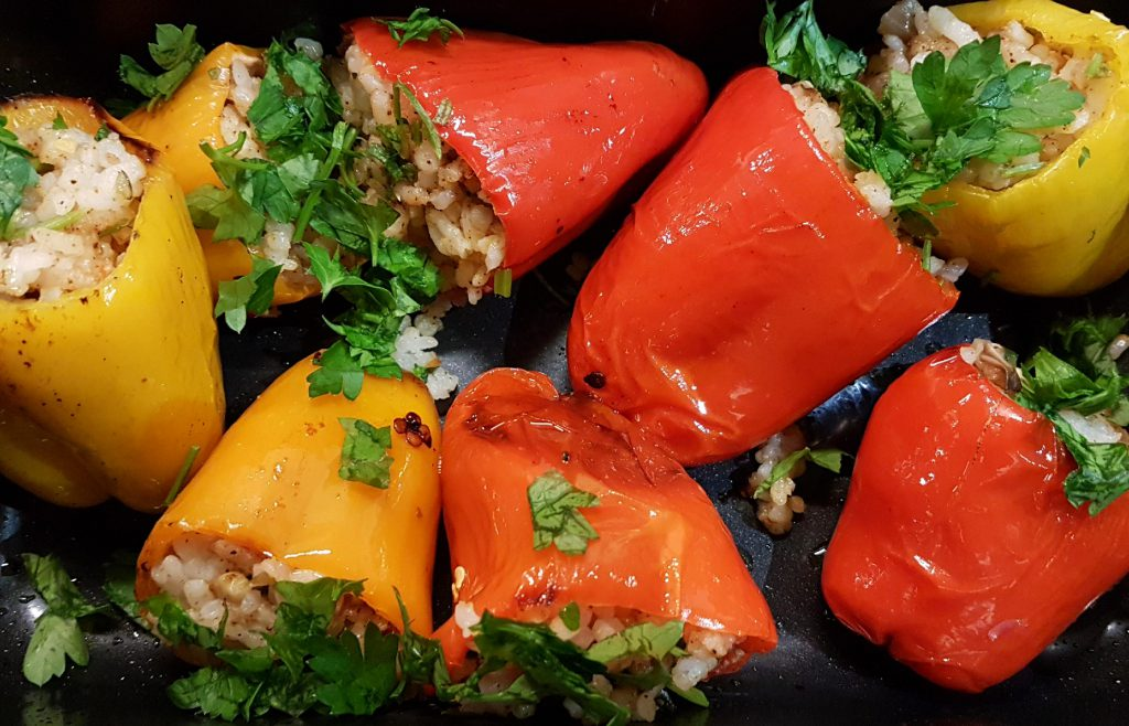 Mexican-Style Stuffed Mini Peppers