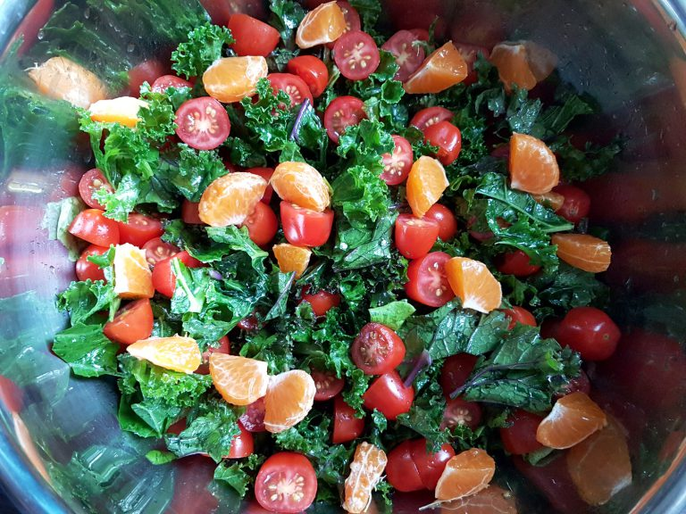 Colourful Kale Salad