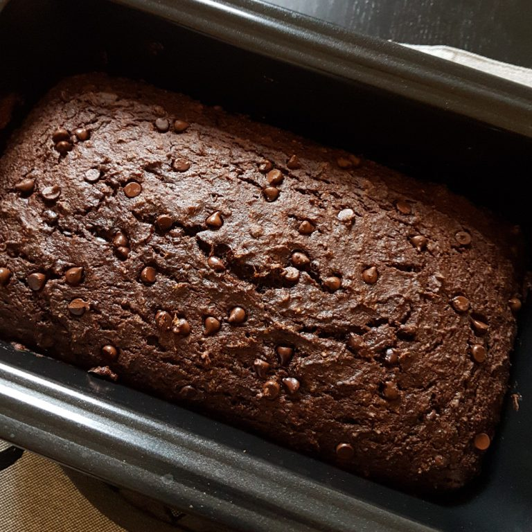 Dairy-free Chocolate Zucchini Loaf