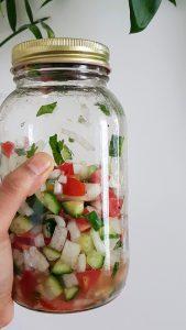 Kachoomar Salad